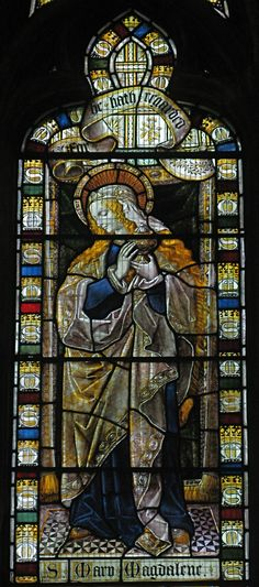Mary Magdalene, St Albans Cathedral || stained glasses .. X ღɱɧღ ||