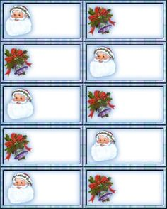 Etiquetas para los regalos... Christmas Name Tags, Christmas Gift Tags Printable, Christmas Labels, Christmas Printables, Christmas Themes, Christmas Gifts, Christmas Decorations, Xmas, Holiday Decor