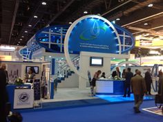 Abu Dhabi Marine Operating Company  booth at ADIPEC 2013