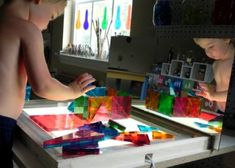 reggio inspired light table ideas
