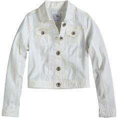 Neon Denim Jacket jackets ($50) ❤ liked on Polyvore