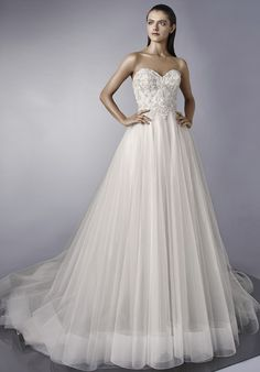 Courtesy of Enzoani wedding dresses