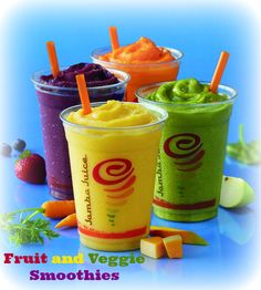 Jamba Juice: Be a Sneaky Chef with New Fruit and Veggie Smoothies! #momsmeet #Sponsored