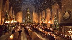harry potter fans can dine in hogwarts great hall this christmas - Hogwarts Halloween