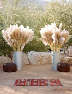 Gorgeous Pampas Grass Ideas for your Wedding | Bridal Musings Wedding Blog 33