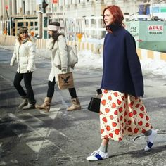 Moda de Rua: Tênis - Streetstyle: Sneakers