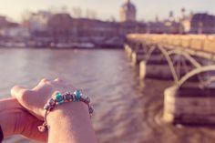 #PANDORAvalentinescontest Love in Paris with you at le pont des Arts