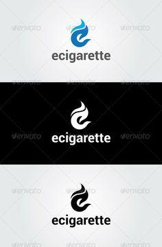 Ecigarette Logo Template