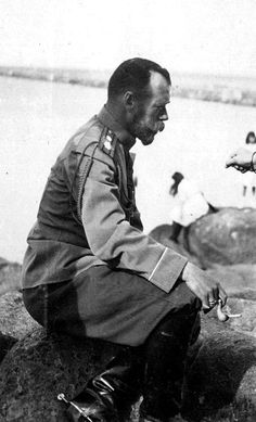 Emperor Nicholas II, 1912 / > the look of contemplation on his face is all consuming...:aPags