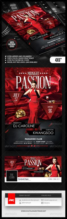 Download PSD File : http://graphicriver.net/item/midnight-passion-nightclub-flyer-template/4819639?ref=kwangsoo