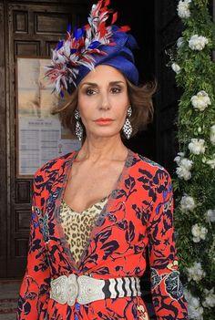Naty Abascal, Patricia Rato y otras vips en la boda de la hermana de Paloma Cuevas