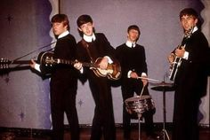 1963 I use to own the mono LP's from Germany, burnt with my house