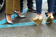 The timeless metallic heel trend-- this week on our blog!