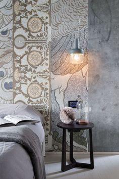 "Papier peint "" Peacock"" de wall & Deco."