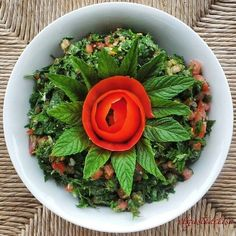Every first saturday of July we celebrate a very delicious dish in our lebanese menu… Happy National Tabbouleh day everyone :) !!!