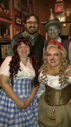 Steampunk Wizard of Oz for MNSoC's Fezziwigs Christmas Party