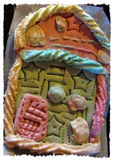 Bienvenue sur le blog de nounou !: Pâte à sel colorée