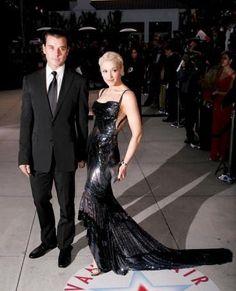 Gwen Stefani in Atelier Versace Vanity Fair Oscar Party 2005