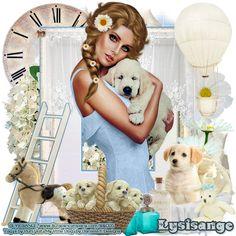 "MI RINCÓN GÓTICO: CT FOR DANIELA E & CT FOR LYSISANGE, ""MY LITTLE DOG"""