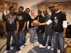 having fun with the fam at the bowling alley 2009 Naturally7