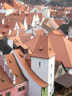 Krumlov Roofs - Cesky Krumlov, Czech Republic Copyright: Zoe Brooks