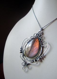 I just love labradorite.