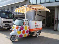 Increíble idea de hacer tu carrito de negocio super colorido y llamativo!