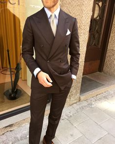 "gabucci: "" Our great store manager showing off his MTM Cesare Attolini DB-suit. Perfection is spelled Attolini in Italian. Visit us at Nybrogatan 14 and gabucci.se #cesareattolini #gabucci #mtm..."