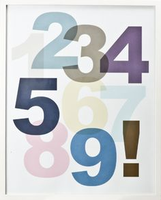 poster (s/s 2013) #lagerhaus #numbers #poster #picture