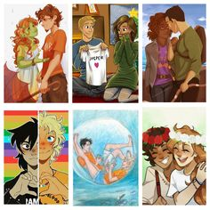 I just added a few ships, Gruniper, Jasper, Frazel, Solangelo, Percabeth, Caleo<<< words can't describe how much I love this actually