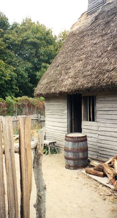 """First Thanksgiving"" - reconstruction 1627 village of Plimoth Plantation Plymouth Colony, Plymouth Rock, Jamestown Colony, New England Homes, Colonial America, May Flowers, Historic Homes, Old Houses, History"