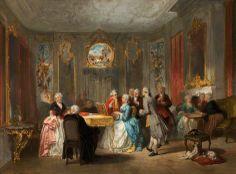 A Royal Musical Party, 1860 by Herman Frederik Carel Ten Kate (Dutch 1822–1891)