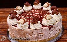 Kinder sajttorta recept Receptneked konyhájából - Receptneked.hu Tiramisu, Cake, Ethnic Recipes, Food, Sweets, Gummi Candy, Kuchen, Essen, Candy