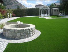 Artificial Garden Grass Surfacing Installers