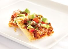 The secret to perfect Mexican-inspired pizza? Add corn chips to the crust for extra crunch.