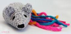 crochet maus Gehäkelte mouse