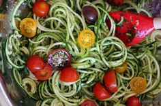 Now I just need to figure out how to make Zoodles!  8 Recipes to Make with Zoodles