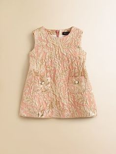 Dolce & Gabbana Infant's Brocade Dress