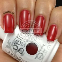 Gelish Hot Rod Red