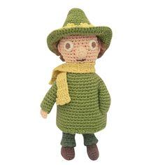 Snufkin crochet toy