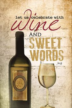 Wine and words