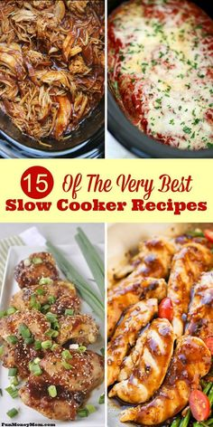 Looking for the very best slow cooker recipes? Once you check these out, you'll want to make crock pot recipes every night of the week! Best Slow Cooker, Healthy Slow Cooker, Crock Pot Slow Cooker, Crock Pot Cooking, Slow Cooker Recipes, Crockpot Recipes, Cooking Recipes, Healthy Recipes, Crock Pots
