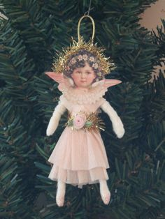 Spun Cotton Christmas Angel