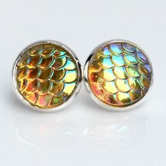 3 For 15golden Mermaid Scale Earrings