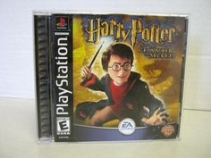 Harry Potter Sony PlayStation One PS1 Chamber Of Secrets Game