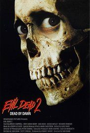 Evil Dead II (1987) 6/10  I enjoyed this but definitely preferred the first. The possessed hand was hilarious but him sawing it off was kinda gruesome :P With it being in the same cabin and everything it felt very much the same as the first. That laughing deer is bound to give me nightmares at some point though!