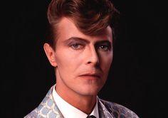 David Bowie, 1986. Photo by Chalkie Davies.