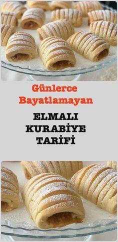 Stunning Apple Cookie Recipe for Days - Kurabiye Tarifleri - - Yemek Tarifleri - Resimli ve Videolu Yemek Tarifleri Cookie Recipes, Dessert Recipes, Desserts, Apple Cookies, Sweet Pastries, Biscuit Cookies, Cake Decorating Tips, Turkish Recipes, Perfect Food