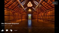 Finally, there's The Barn, a private space that can be rented out for events. Orange City Iowa, Blue Mountain, Wedding Locations, Building, Wedding Stuff, Travel, Viajes, Buildings, Destinations