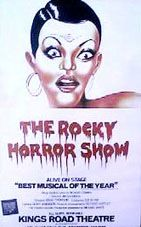The Rocky Horror Show is a musical with music, lyrics and book by Richard O'Brien. A humorous tribute to the science fiction and horror B movies of the late 1940s through to the early 1970s, the musical tells the story of a newly engaged couple getting caught in a storm and coming to the home of a mad transvestite scientist unveiling his new creation, a sort of Frankenstein-style monster in the